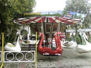 A körhinta a Holnemvolt Parkban